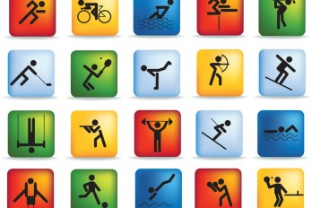 Sport icon set